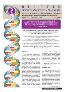 Book Cover: PGM Bulletin Genetik June 2008