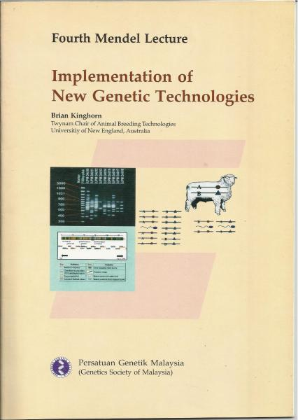 Book Cover: 4th Mendel Lecture - Implementation of New Genetic Technologies