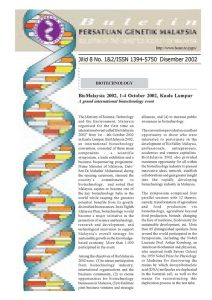 Book Cover: PGM Bulletin Genetik Dec 2002