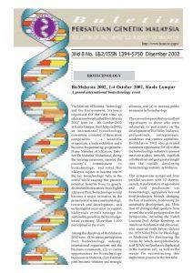 Book Cover: PGM Bulletin Genetik Dec 2002