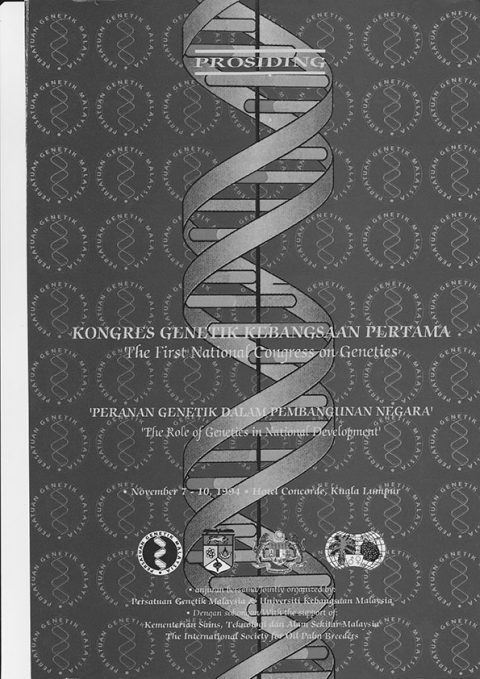 1st National Congress on Genetics : The Role of Genetics in National Development