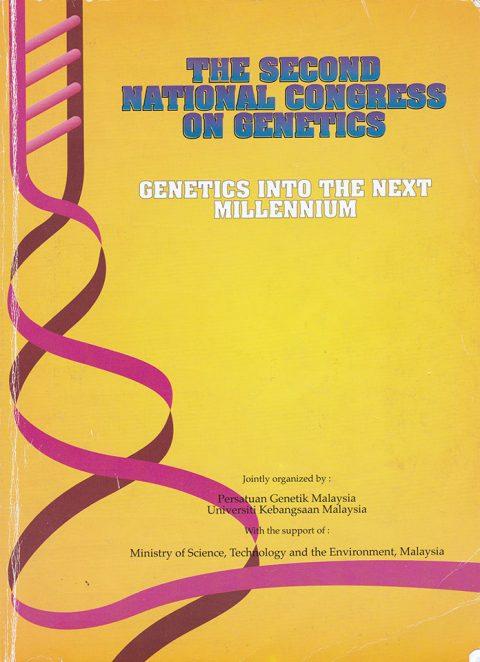 2nd National Congress on Genetics : Genetics into the Next Millennium