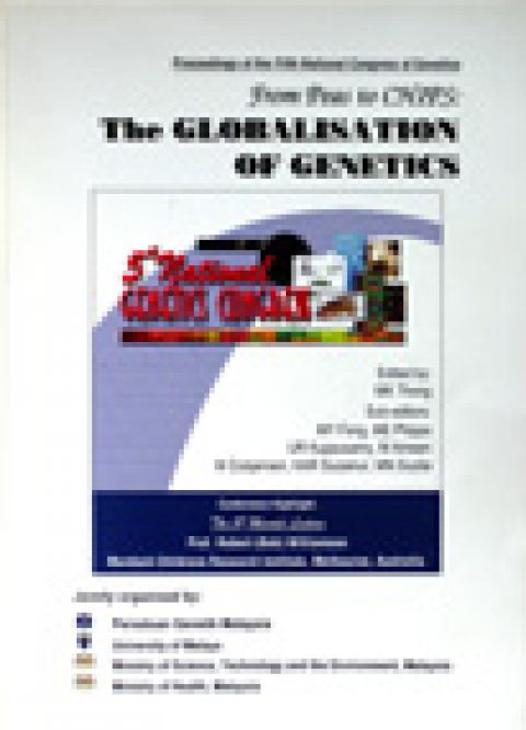 5th National Congress on Genetics : From Peas to Chips – The Globalisation of Genetics
