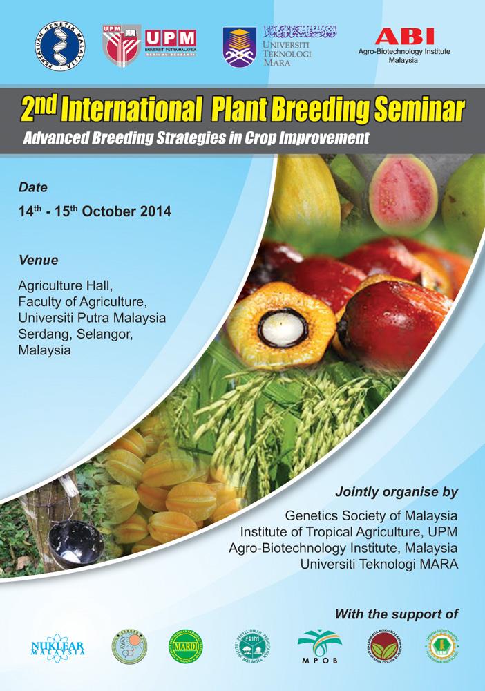 2nd International Plant Breeding Seminar Advanced Breeding