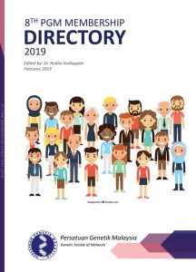 Book Cover: PGM Membership Directory 2019