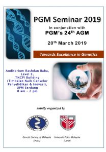 Book Cover: PGM Seminar 2019
