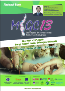 Book Cover: MiGC13 Abstract Book