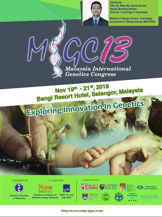 Book Cover: MiGC13 Programme Book